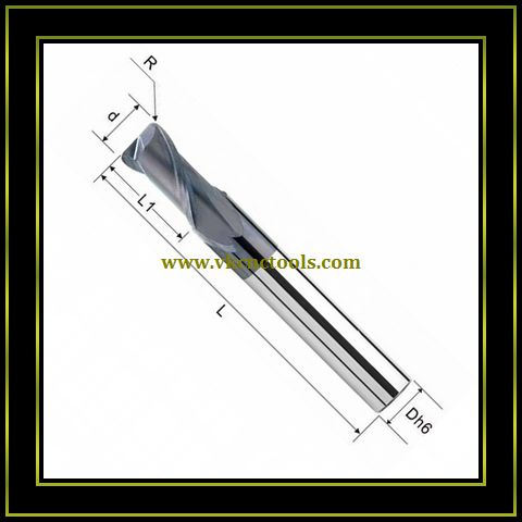 2F&4F Corner Radius End Mills (General Type)